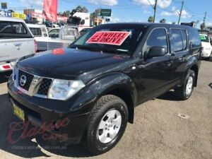 2005 Nissan Pathfinder R51 ST (4x4) Black 6 Speed Manual Wagon Lansvale Liverpool Area Preview