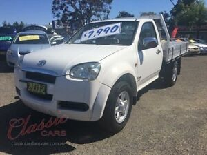 2011 Great Wall V240 K2 (4x4) White 5 Speed Manual Cab Chassis Lansvale Liverpool Area Preview