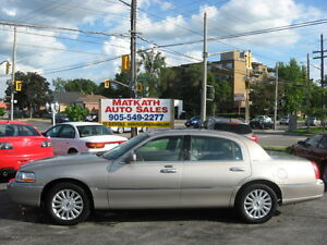 **2003 Lincoln Town Car Signature Series** Cert & E-tested