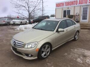 2010 MERCEDES-BENZ C-CLASS C300 - AWD - SUN ROOF - LOW KM
