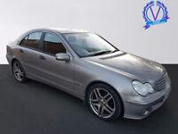 MERCEDES-BENZ C CLASS C220 CDI Classic SE 4dr Auto (silver) 2005