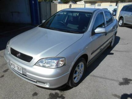 2003 Holden Astra TS Equipe Silver 4 Speed Automatic Sedan