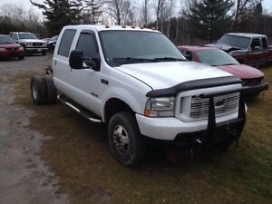 PARTING OUT 2004 F350 CREW CAB SHORTBOX DUALLY 6.0L DEISEL 4x4