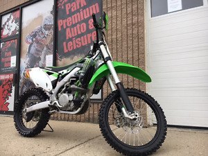 2015 Kawasaki KX450F low hours for only $69 bi-weekly!!