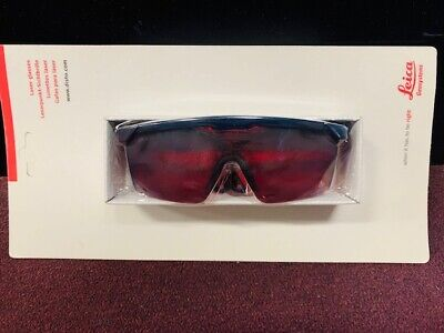 New Leica Red Construction Sun Tactical Laser Beam Protection Safety Glasses