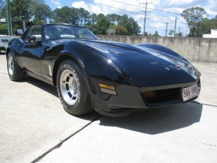 1982 Chevrolet Corvette C3 Corvette Brilliant Black 4 Speed Automatic Targa