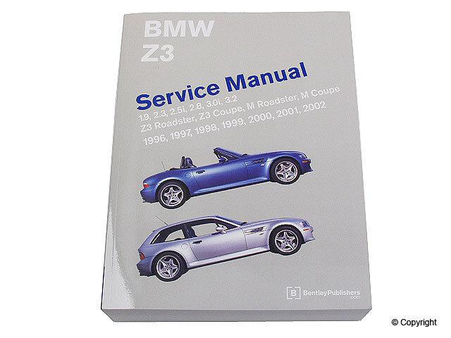 1996-2002 BMW Z3 Bentley repair manual E36 BM8000Z98