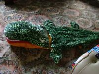 CHILDS CROCODILE SLEEPING BAG