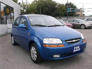 2004 CHEVROLET AVEO LS * ONLY 145,000 KM * LOADED WITH OPTIONS *