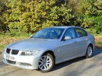 BMW 3 SERIES 2.0 318I ES 4d 141 BHP (silver) 2007