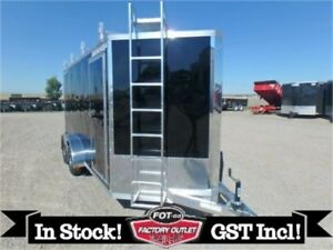 7 x 14 *ULTIMATE CONTRACTOR* Cargo Trailer by Alcom All-Aluminum
