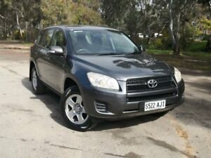 2010 Toyota RAV4 ACA38R MY09 CV 4x2 Grey 5 Speed Manual Wagon Mile End South West Torrens Area Preview