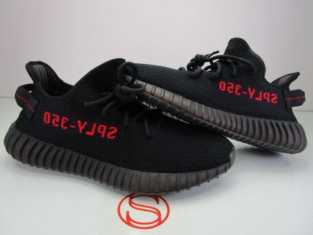 Adidas Yeezy Boost 350 V2 BLACK RED BRED 9