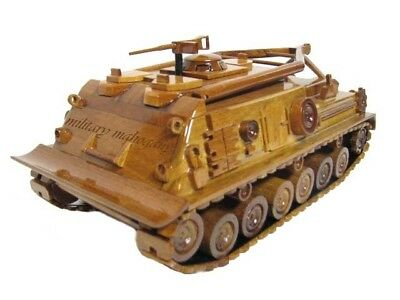 M88 M88A1 MRV Recovery Vehicle Armor Tank Mahogany Wood Wooden Replica Model New