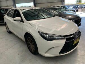 2015 Toyota Camry ASV50R Atara S White Sports Automatic Sedan Boolaroo Lake Macquarie Area Preview