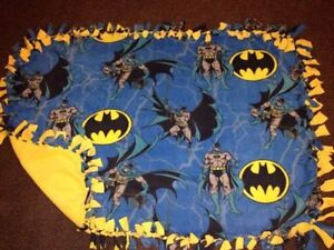 Batman handmade fleece blanket London Ontario image 1