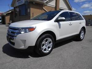 2014 FORD Edge SEL 3.5L FWD Navigation Leather Panoramic Sunroof
