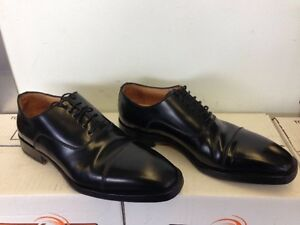 DI Mella Italian Black Dress Shoes Immaculate