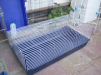 Indoor rabbit cage used 2 weeks only