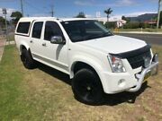 2007 Holden Rodeo RA MY08 LT White 5 Speed Manual Crew Cab Pickup Dapto Wollongong Area Preview