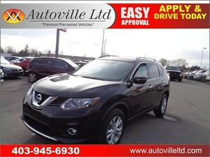 2015 Nissan Rogue SV AWD LOW LOW KM  Nav B.Cam Panoramic Sunroof