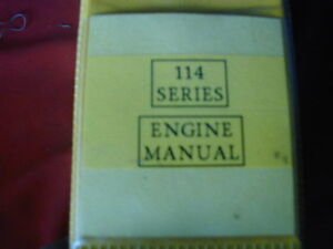 KOMATSU 114 SERIES DIESEL ENGINE WORKSHOP SERVICE MANUAL c1996 Dianella Stirling Area Preview