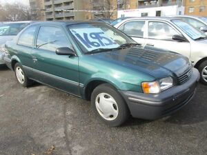 1999 Toyota Tercel CE - ONLY 133,812 klm's
