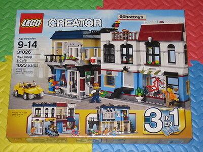 Lego Creator 31026 Bike Shop   Caf  New