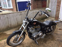 Harley Davidson XL 883 L - (CONVERSION 1200CC )- LOVELY GENUINE BIKE