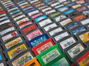 WANT GBA or GBC GAMEBOY ADVABCE COLOR COLOUR GAMES
