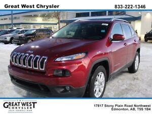 2017 Jeep Cherokee UCONNECT HANDSFREE**BACKUP CAM**COLD WEATHER