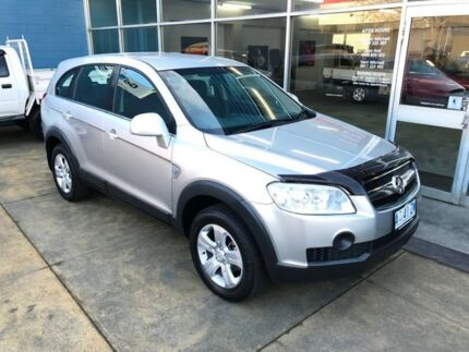 2009 Holden Captiva CG MY10 SX (4x4) Silver 5 Speed Automatic Wagon Hobart CBD Hobart City Preview