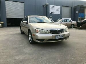 2001 Nissan Maxima A33 S Gold 4 Speed Automatic Sedan Newport Hobsons Bay Area Preview