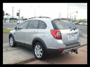 2007 Holden Captiva Silver Wagon