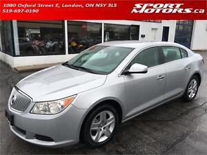 2010 Buick LaCrosse! New Tires & Brakes! Bluetooth! A/C!
