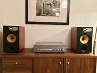 Bower & Wilkins 685 with NAD 320BEE amplifier