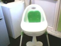 Excellent condition high chair