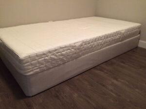 IKEA twin size box and memory mattress