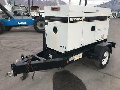 Generator 25 Kva 20 Kw Multiquip Diesel Trailer Mounted