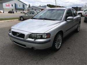 2004 Volvo S60 2.5T, Cruise, Cuir, AC, Mags, Toit, DEAL