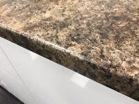 Mocca brown Granite Laminate Kitchen Worktop - Brand New 3.6 mtr long worktops