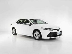 2018 Toyota Camry AXVH71R Ascent White 6 Speed Constant Variable Sedan Hybrid Cooee Burnie Area Preview