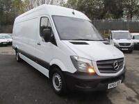Mercedes-Benz Sprinter 313 CDi LWB High Roof 3.5T Van DIESEL MANUAL WHITE (2015)