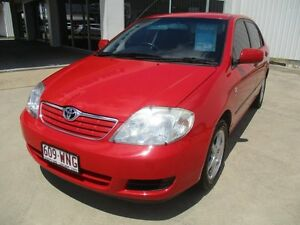2005 Toyota Corolla Red Automatic Ayr Burdekin Area Preview