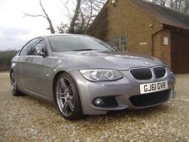 BMW 325i M SPORT COUPE LCI 2011 - IN SPACE GREY