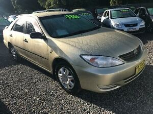 2003 Toyota Camry ACV36R Altise Gold 4 Speed Automatic Sedan Jewells Lake Macquarie Area Preview