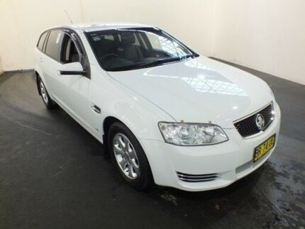 2012 Holden Commodore VE II MY12 Omega Heron White 6 Speed Automatic Sportswagon Clemton Park Canterbury Area Preview