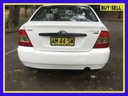 2006 Toyota Corolla ZZE122R 5Y Ascent White Automatic Sedan Lansvale Liverpool Area Preview