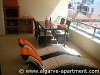 Algarve accommodation, 2-bedroom holiday apartment close to Meia Praia beach and Lagos Marina