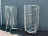 Cage roll cages trolleys